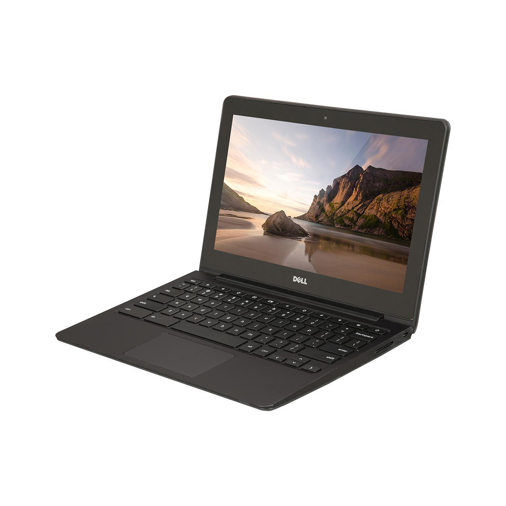 "Refurbished Dell Chromebook 11.6"" LED Chromebook Intel Celeron 1.4GHz 2GB 16GB SSD - Gray"