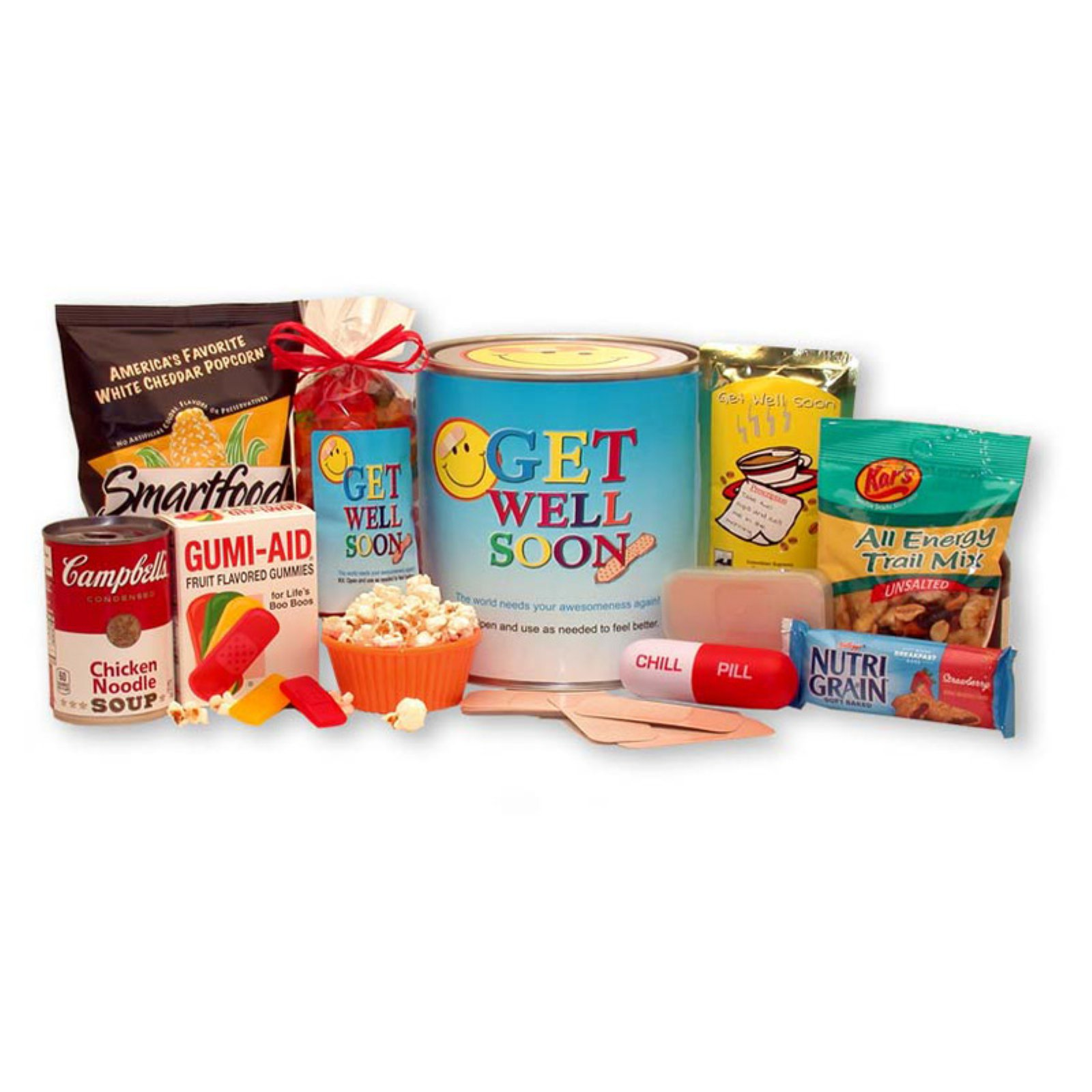Gift Basket Drop Shipping Get Well Soon Gift Pail