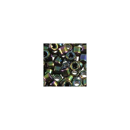 Miyuki Delica Seed Bead 11/0 Iris Green (3 Gram Tube)