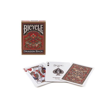 Bicycle Gold Dragon Back Playing Cards - 1 Sealed Deck #1025004