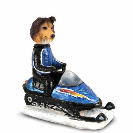 NO.DOOG20A202 Sheltie Sable Snowmobile Doogie Collectable