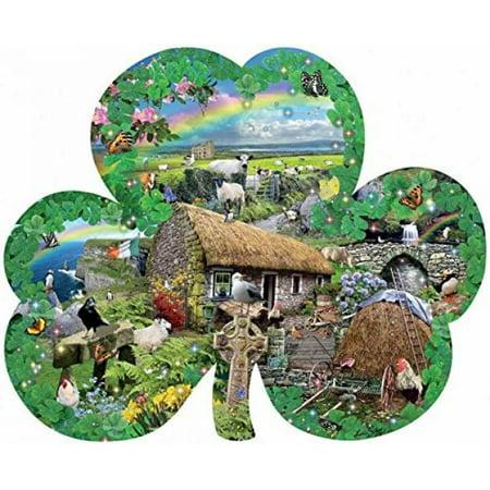 Puzzle Piece Charm (Irish Charm a 1000-Piece Jigsaw Puzzle by Sunsout)