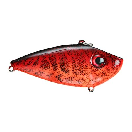 Strike King Silent Red Eye Shad 1/2 oz Chili Craw