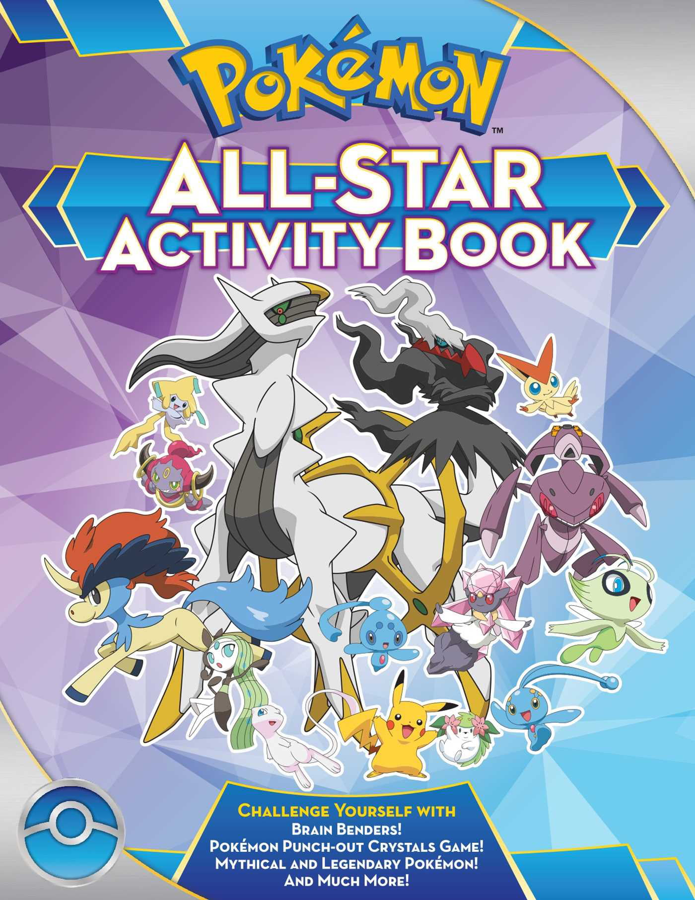 Pokmon all star activity book meet the pokmon all starswith pokmon all star activity book meet the pokmon all starswith activities featuring your favorite mythical and legendary pokmon walmart altavistaventures Images