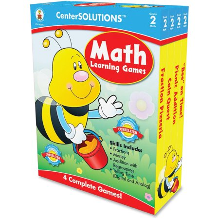 CenterSOLUTIONS, CDP140052, Grade 2 CenterSolutions Math Learning Games, 1 - Math Games 2