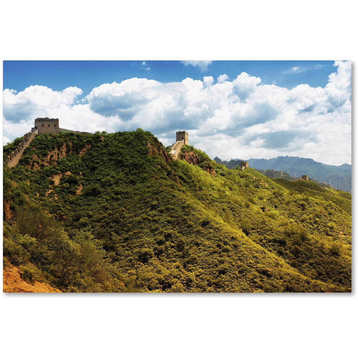 "Trademark Fine Art ""Great Wall VII"" Canvas Art by Philippe Hugonnard"