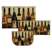 Mohawk Home New Wave Wine Row Kitchen Mat Set