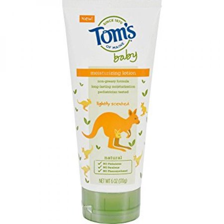 Newborn Scented Baby Lotion - Tom's of Maine Baby Lotion - Lightly Scented - 6 oz