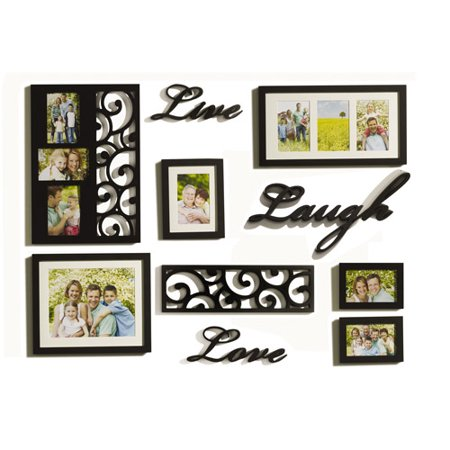 Lifetime 10 Piece Sentiment Frame Set Live Love - Walmart.com