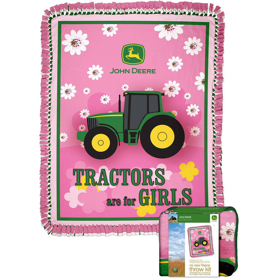 John Deere Throw Kit, Tractors Are For Girls