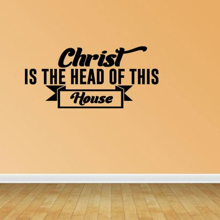 Christian Wall Art Christian Decals Bible Verse Decal Religious Wall ...