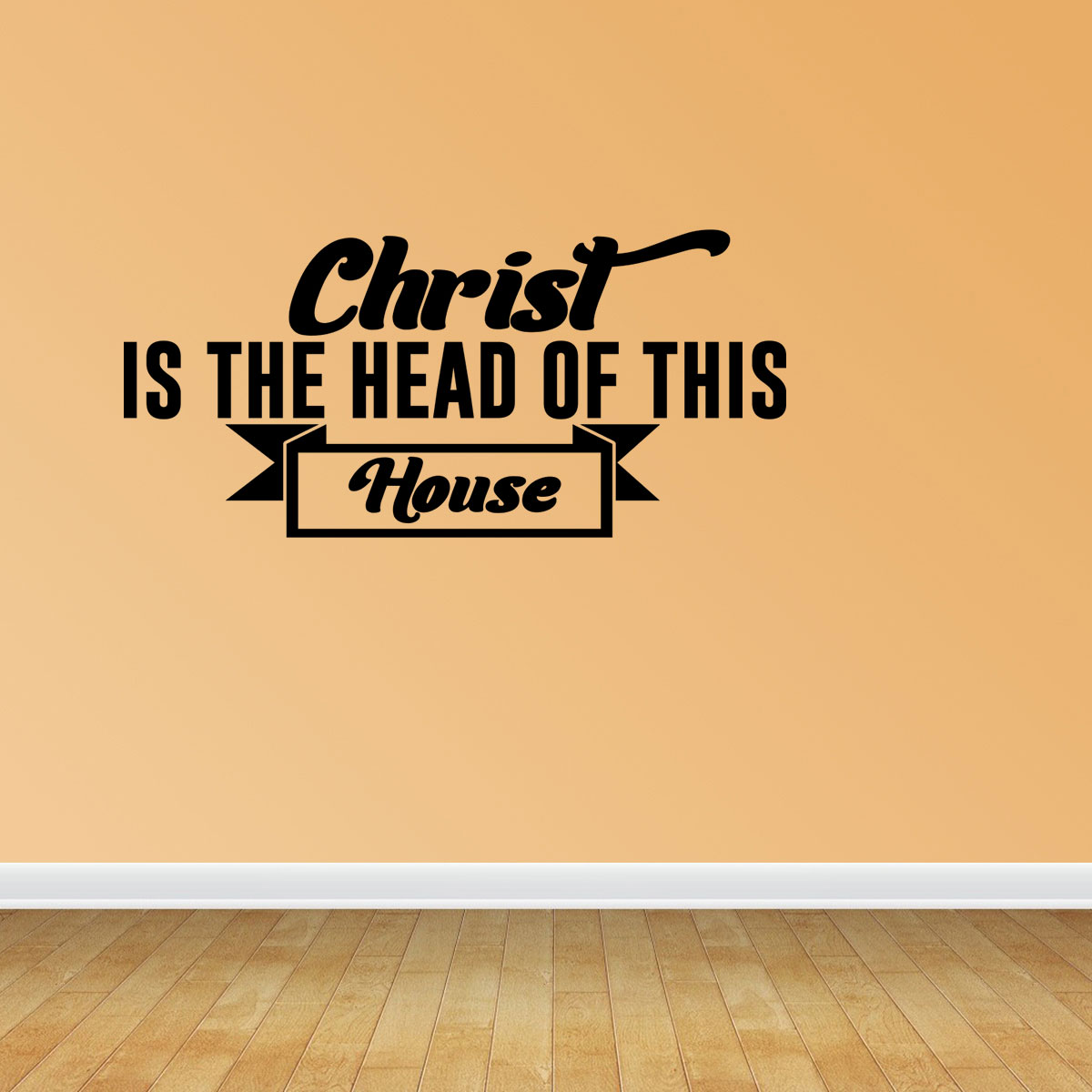 Christian Wall Art Christian Decals Bible Verse Decal Religious Wall Art  JP297