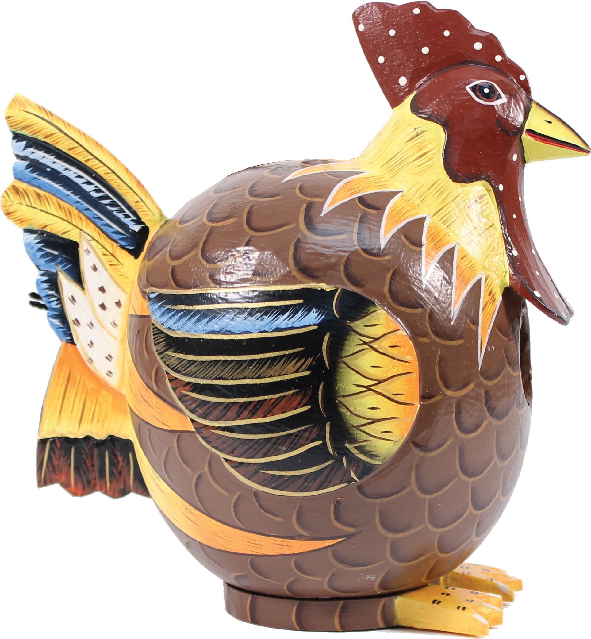 Songbird Essentials-Rooster Gord-o Bird House- Multi