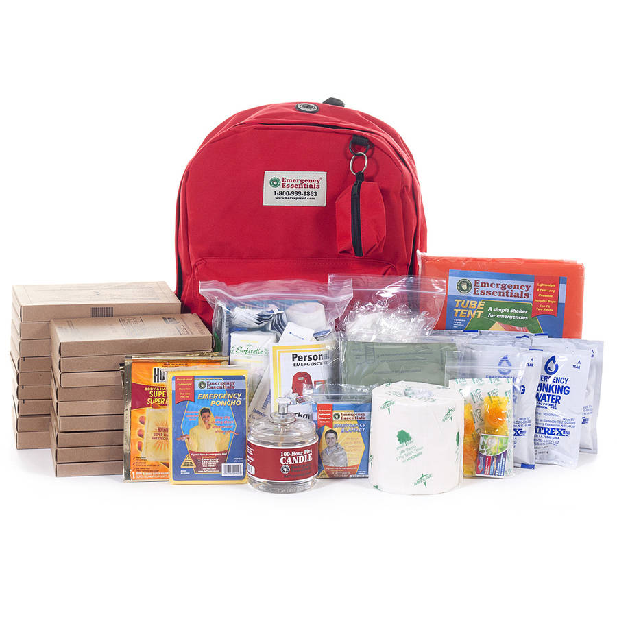 Emergency Essentials Personal 1 Person 72 Hour Emergency Survival Kit with MREs by Emergency Essentials