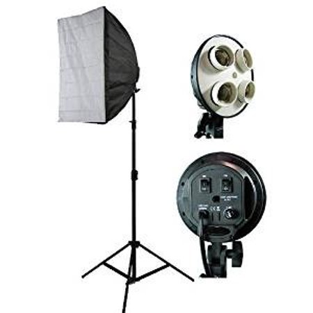ePhoto Photograpy Video DSLR Camera Lighting Kit Studio Photo Softbox Lighting