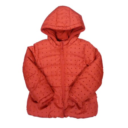 Rothschild Toddler & Little Girls Red Polka Dot Coat Puffer Ski Jacket - Rothschild Wool Dress Coat