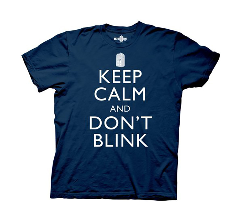 Doctor Who T-Shirt - Keep Calm And Don't Blink