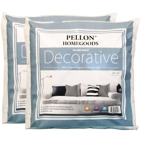 Throw Pillow Inserts 18 X 18 : Decorative Pillow Insert Twin Pack, 18