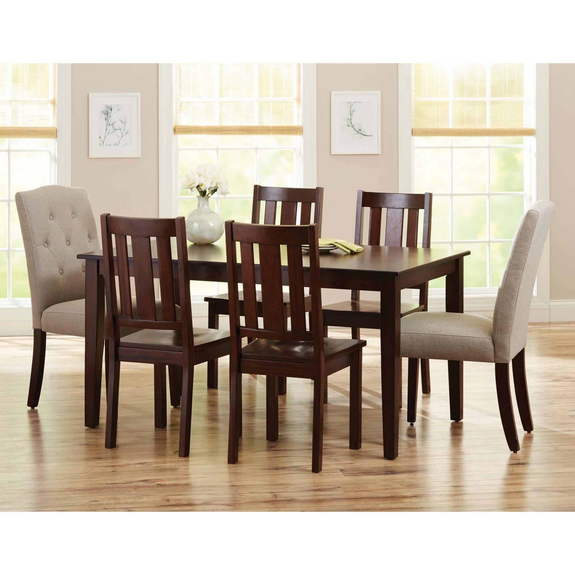 Better Homes and Gardens Bankston Dining Chairs Set of 2 Mocha