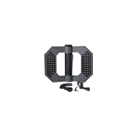 Cooper Lighting LED130 Might-D-Light LED Rechargeable Folding Worklight with AC & DC Charging Adapters