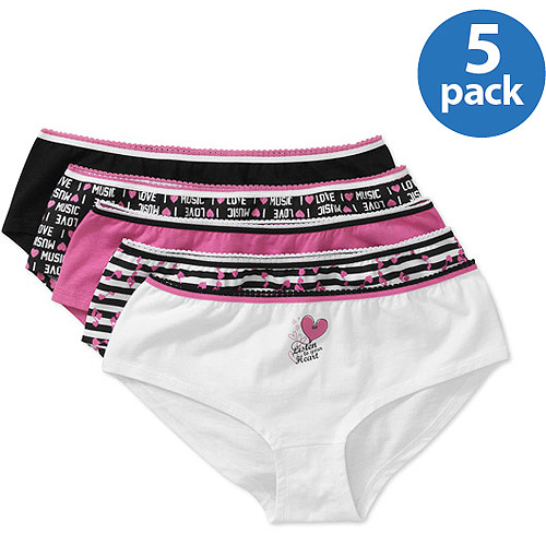 Juniors Cotton Hipsters 5-Pack