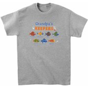 Personalized His Little Keepers Adult T-Shirt