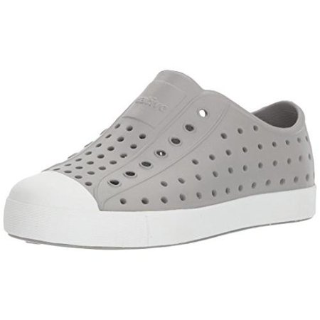 Native Jefferson Kids/Junior Shoes - Pigeon Grey/Shell White - J1