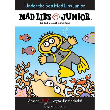Under the Sea Mad Libs Junior - Under The Sea Font