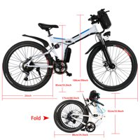Generic 26-in Electric Foldable Mens Mountain Bike Deals