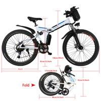 Generic 26-in Electric Foldable Mens Mountain Bike