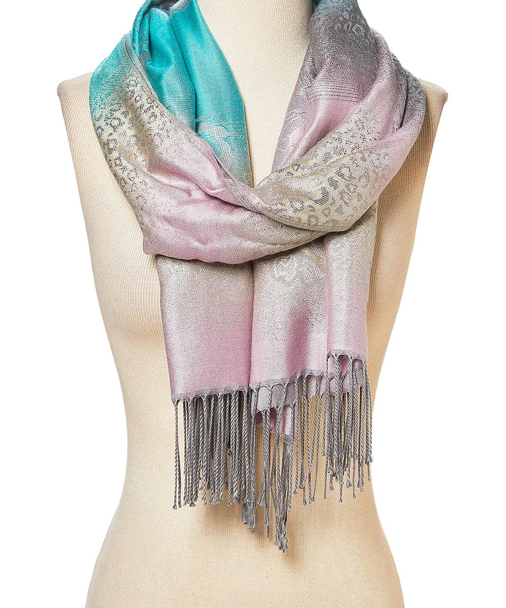 Women Ladies Winter Big Faux Cashmere Scarf Warm Shawl Wraps Long Soft CB