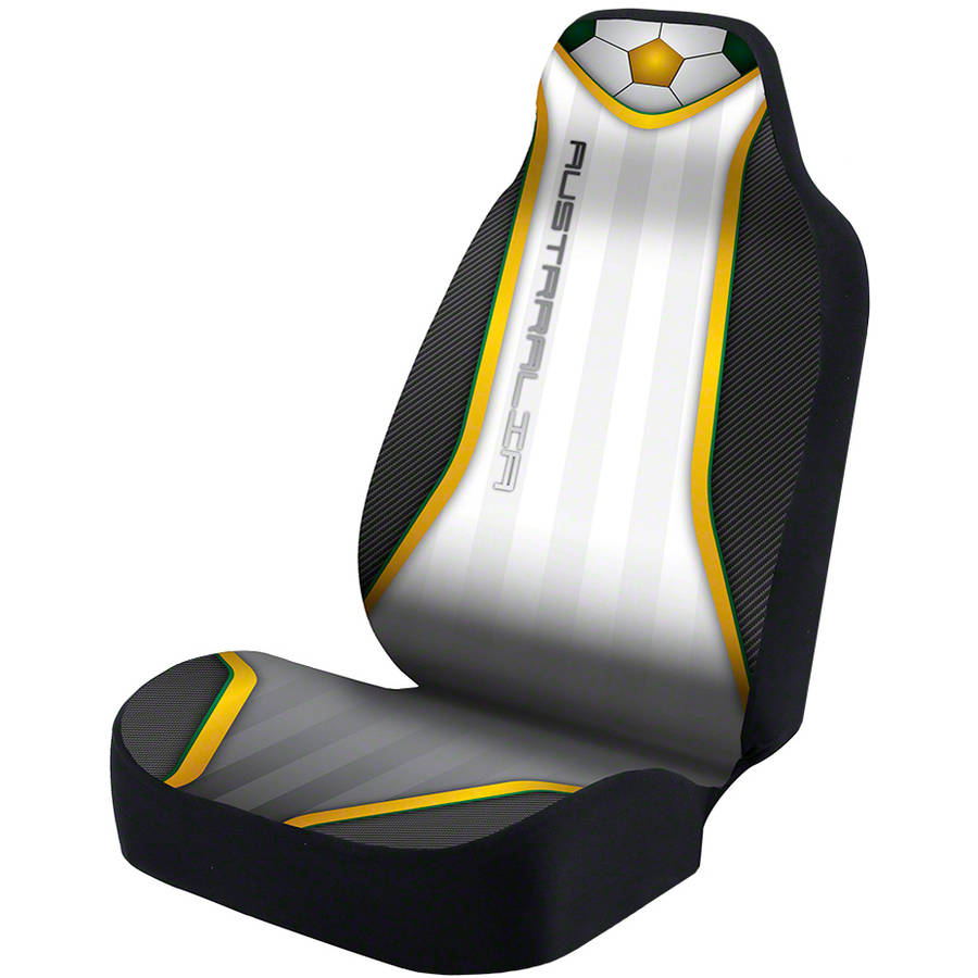 Coverking Universal Seat Cover Designer Ultra Suede, World Cup Australia