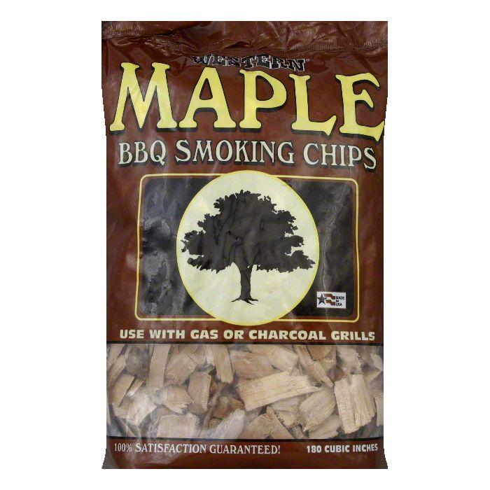 Western Maple Smoking Chips, 2 LB (Pack of 6)