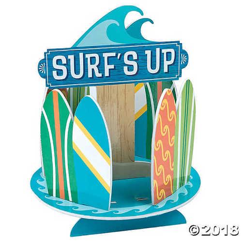 Surf's Up Birthday Centerpiece