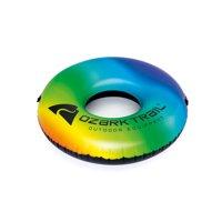Ozark Trail Inflatable Rainbow Single Rider River Tube