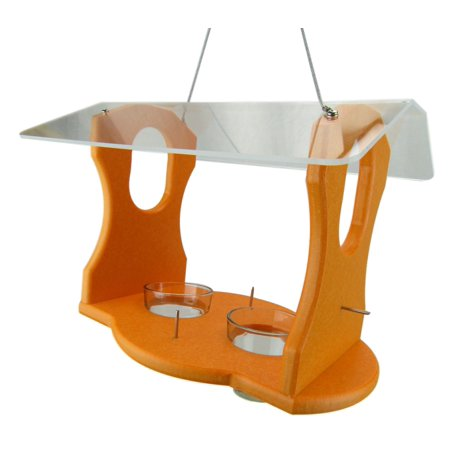 Jelly Oriole Feeder (JCs Wildlife Ultimate Recycled Poly Oriole Bird Feeder Fruit and Jelly Buffet )