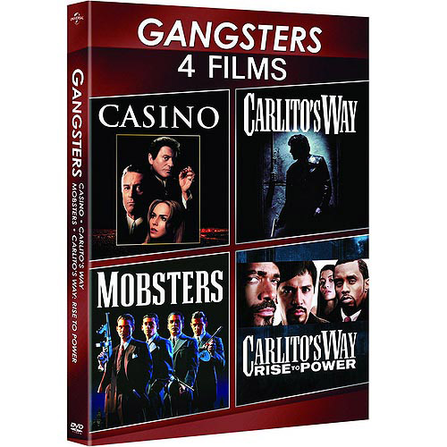 Gangsters: 4-Movie Spotlight Series - Carlito's Way / Carlito's Way: Rise To Power / Casino / Mobsters (Anamorphic Widescreen)