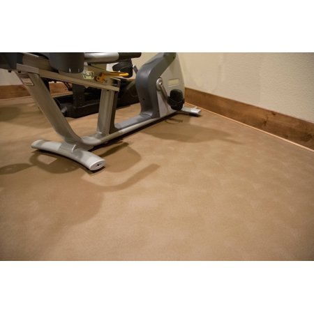 G-Floor 55 Mil Levant 5'x10' Sandstone Parking Pad Garage Floor Cover/Protector Garage Floor Cover