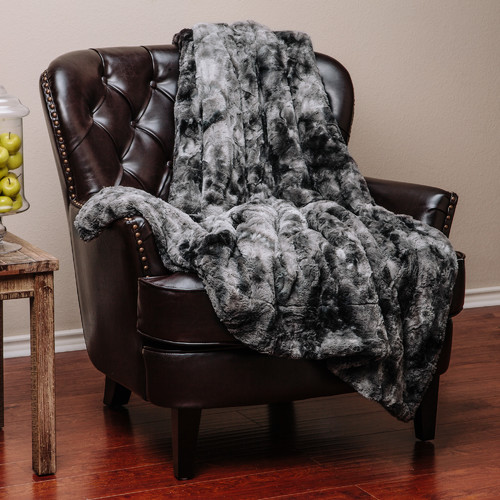 Chanasya Super Soft Fuzzy Fur Warm Cozy Sherpa Throw Blanket by LIVEDITOR LIGHTING