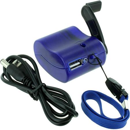 Economy DC Crank Generator - USB 5V, Small and economical DC hand crank generator By (Best Hand Crank Generator)
