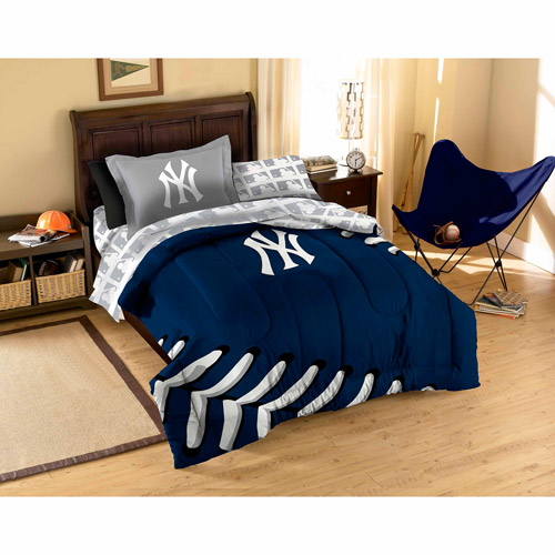 MLB Applique Bedding Set, Yankees