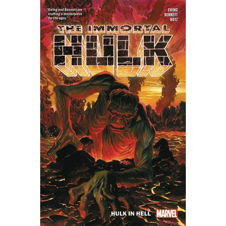 Immortal Hulk Vol. 3 : Hulk in Hell - Incredible Hulk Comic Book Cover