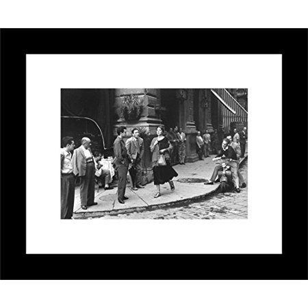 FRAMED An American Girl in Italy, 1951 by Ruth Orkin 14x11 Photograph Art Print Poster