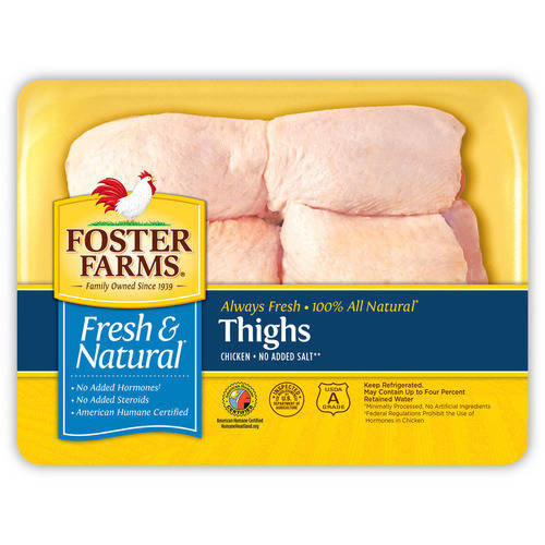 Foster Farms Chicken Thigh , 1.6- 2.4 lbs