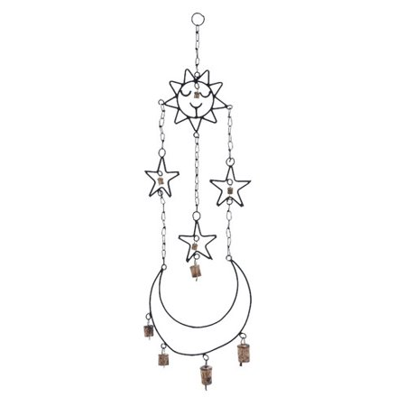 Woodland Imports Metal Hanger Wind Chime