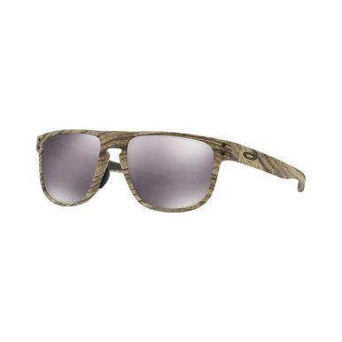 Oakley OO9379-0955 Holbrook Walnut Woodstain Prizm Black Lens Sunglasses Oakley Black Lens