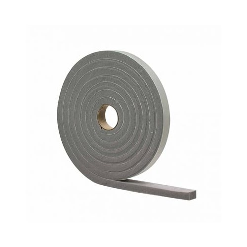 "M-D Building Products 2238 1/8"" x 1/4"" x 17' High Density Closed Cell Foam Weatherstrip Tape"