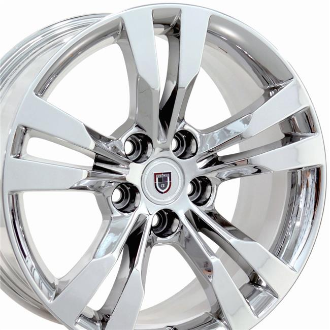 CA15B-18095-5120-52CPVD 18 x 9.5 in. Replica Wheel, PVD Chrome for Cadillac CTS