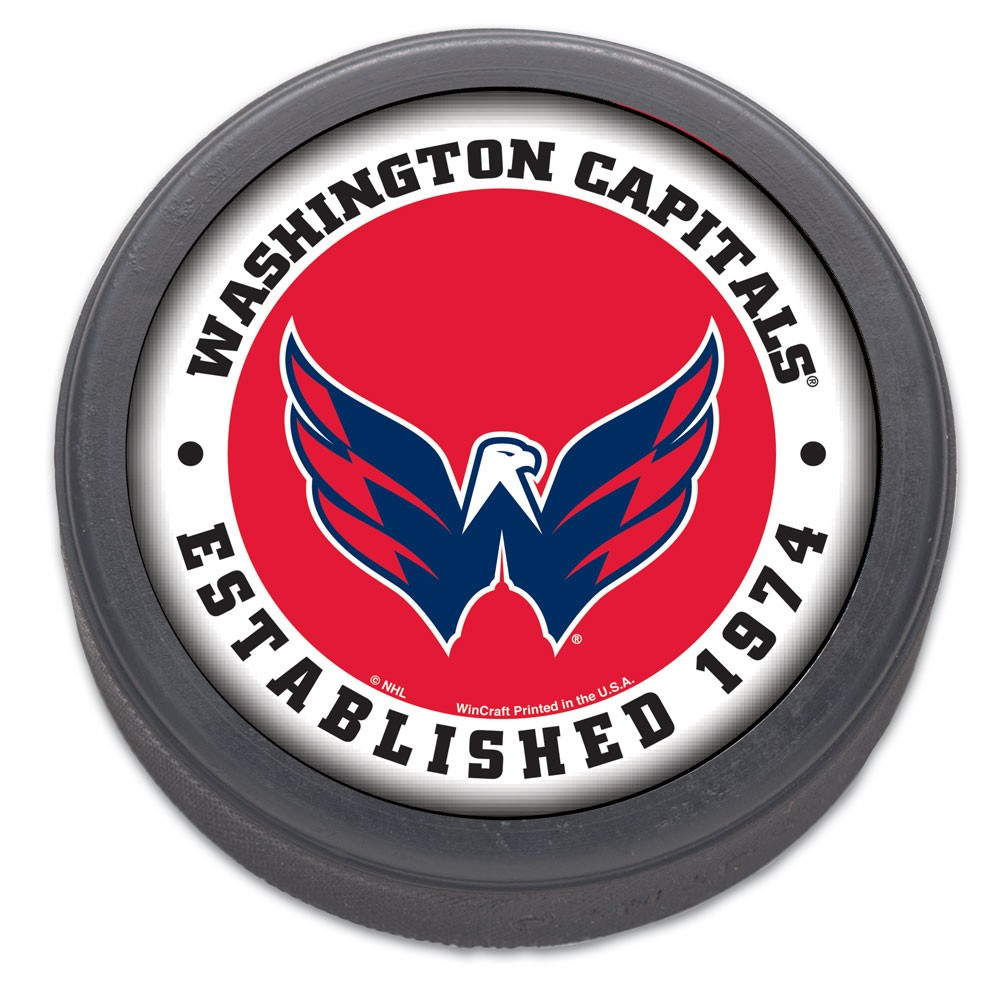 Washington Capitals Official NHL Hockey Puck by Wincraft 773876