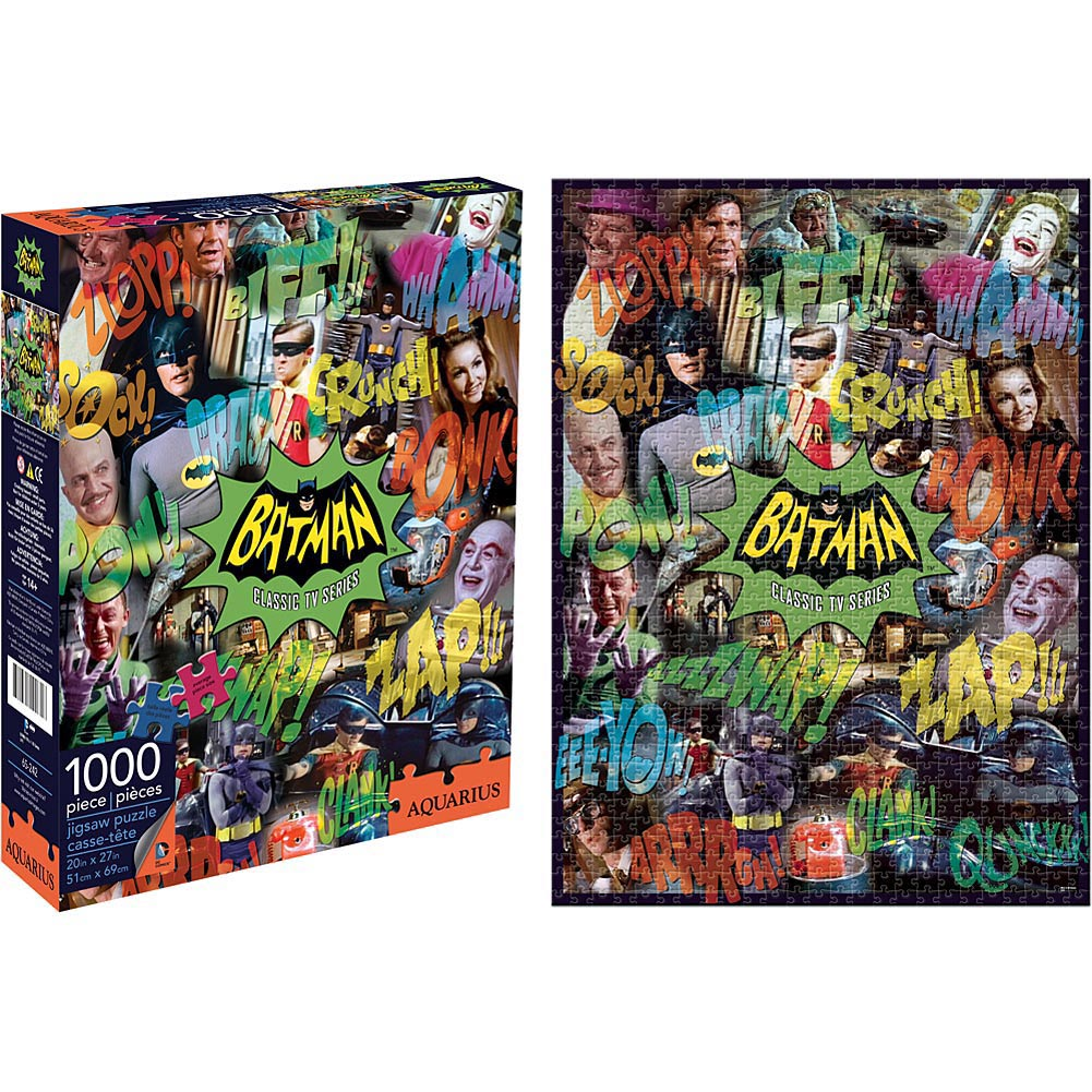 Batman TV Collage 1000 Piece Puzzle